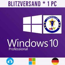 Windows 10 Pro Vollversion für 32 und 64 Bit   Aktivierungsschlüssel Key Win 10