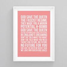 Queen Red Art Posters