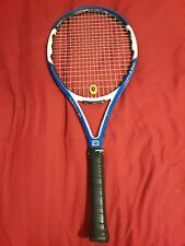 "Wilson N Fury 100 Tennis Racquet - 4"" new overgrip"