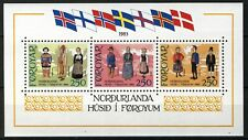 Faroe Islands 1983, Culture House Nordurlanda Tórshavn MS, Mi Bl 1 cat 10€