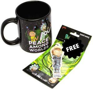 Rick and Morty Combo Coffee Mug 11oz with Air Freshener