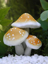 Miniature FAIRY GARDEN Accessories ~ Giant Gold Mushroom Pick ~ NEW