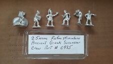 25mm  Rafm Miniatures Ancient Greek Successor Crew