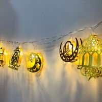 LED Fairy String Light Muslim Islamic EID Ramadan Festival Lighting Party Decor