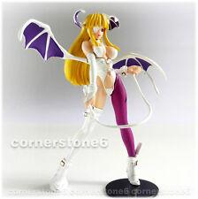 ~ CAPCOM - Yujin - VAMPIRE SAVIOR - gashapon SR girl figure - MORRIGAN (b) *