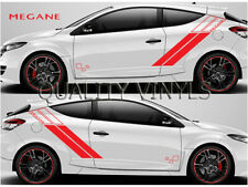 Renault Megane Trophy Racing Side Stripes Decals Graphics Stickers RS99