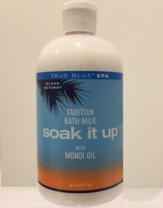 BATH & BODY WORKS TRUE BLUE SPA TAHITIAN BATH MILK SOAK IT UP FREE SHIPPING USA