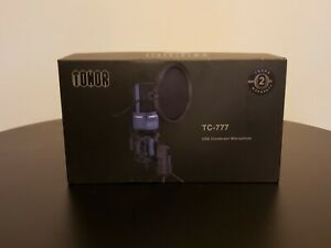TONOR TC-777 USB GAMING YOUTUBE VOCAL RECORDING  MICROPHONE