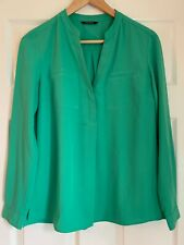T.M Lewin 1/2 Button Loose Fit Top UK 8