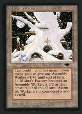 ***1x Mishra's Factory Winter*** MTG Antiquities -Kid Icarus-