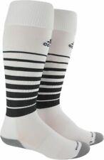Adidas Team Speed Soccer Socks Climacool Formation White Size Medium 5-8.5