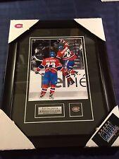 Alex Galchenyuk Brendan Gallagher Montreal Canadiens 8x10 photo Frame Cadre B&W
