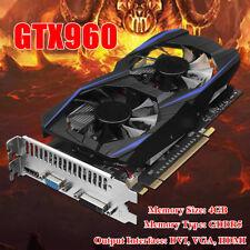 GTX960 4GB GDDR5 128Bit PCI-E VGA DVI HDMI Grafikkarte Für NVIDIA GeForce