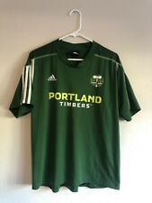 2000s Adidas Portland Timbers MLS Soccer Jersey, Green Youth XL