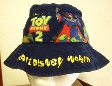 TOY STORY 2 Disney bucket hat Woody & Buzz kids fishing cap Evil Emperor Zurg