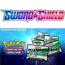 100 щит Sword базовый набор кодов Pokemon TCG онлайн-бустер отправлен в игре быстро!