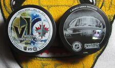Vegas Golden Knights VS Winnipeg Jets STANLEY CUP PLAYOFFS match up puck LE