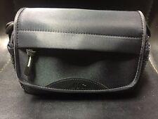 JVC CB-VM70 Camera Camcorder Accessory Soft Carrying Case Strap Bag Black/Lime