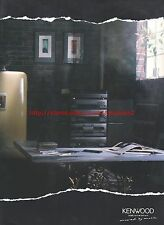 Kenwood Car Home Hifi 1992 Magazine Advert #7220