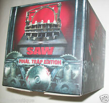 Saw 1-7 Limited Final Trap Box Edition Blu-ray numbered edition NEW SEALED