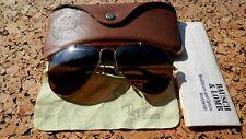 Vintage Ray-Ban Aviator B-15 TGM Driving Lenses Sunglasses By Bausch & Lomb USA