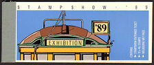 1989 TRAMS Stampshow '89 bkt. Incl. Entry ticket, 10x41c, MetPass  • FREE POST