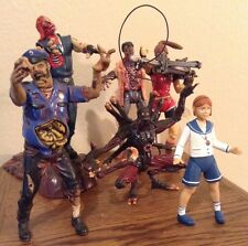 Capcom 1998 Resident Evil Action Figures Without Packaging