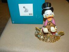 WDCC Walt Disney Mickeys Christmas Carol Scrooge McDuck And Money W COA