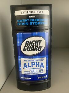 Right Guard Antiperspirant Best Dressed Collection ALPHA 2.6oz New