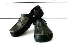 EUC Men's Crocs Yukon Mesa Metallic Camo Clog Size 11 Adjustable Heel Strap
