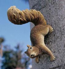 Simone the Squirrel Statue, Sculpture, Indoor / Outdoor, Design Toscano