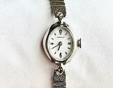 VINTAGE CARAVELLE SS WIND UP LADIES WATCH, N3, 2966, VIDEO LINK OF WATCH BELOW