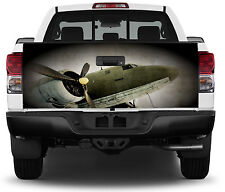 Old Airplane Truck Tailgate Vinyl Graphic Decal Sticker Wrap