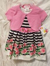 Jessica Ann Roses Printed 2Pcs. Dress  2T New Free Shipping