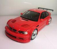 Minichamps 1/18 BMW GTR Street 2001 Red Diecast Model