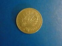 Singapore 50 Cents KM# 5 1977  A821  I COMBINE SHIPPING
