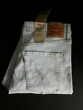 Levi's Ladies Mile High Super Skinny Light Blue Jeans