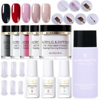 17Pcs BORN PRETTY 3 In 1 Acrylic Dipping System Powder Liquid Brush Nail Kit