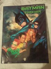 Selection Soundtrack Album Batman Forever Sheet Music Voice Piano Guitar Chords!