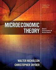 Microeconomic Theory: Basic Principles and Extensions (Mindtap Course List), Sny