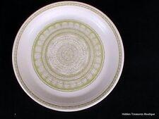 Franciscan Earthenware Hacienda Green 1 Dinner Plate Floral Geometric Design