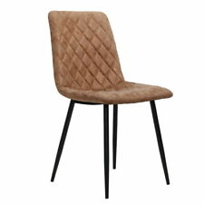 Artiss MO-DIN-10-PU-BRX2 Dining Chair - Brown (2 Count)