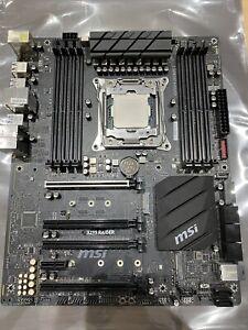 MSI X299 Raider LGA 2066 Motherboard with Intel Core i7-7800X 6 Core CPU