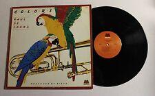 RAUL DE SOUZA Colors LP Milestone Rec M-9061 US 1975 VG++ PROMO 9G