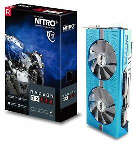 Brand new Sapphire NITRO+ AMD RX580 8GB Special Edition Graphics Card NO RESERVE