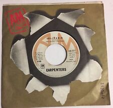 """CARPENTERS SOLITAIRE / LOVE ME FOR WHAT I AM MEXICAN 7"""" SINGLE"""