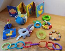 10 Stück, Set Baby Spielzeug Fun Rassel Beißring Spielzeug Babyspielzeug Kette