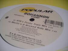 "BOHANNON STOMP 12"" 1996 POPULAR RECORDS 26014 SEALED"