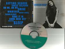 IMOGEN HEAP I Megaphone ADVNCE DIFFERENT ART PROMO DJ CD 1998 USA ams3p6345