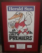 Sydney Swans 2005 Weg Tribute *Signed*